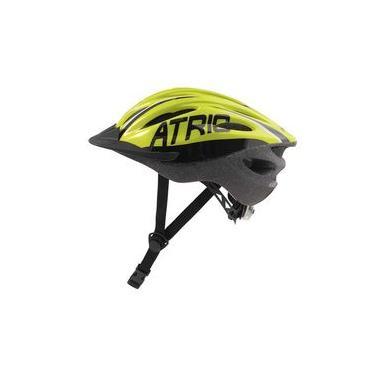 Imagem de Capacete Para Bike Mtb Átrio Com Sinalizador Traseiro Tamanho M 54/58 Cm Com Regulagem