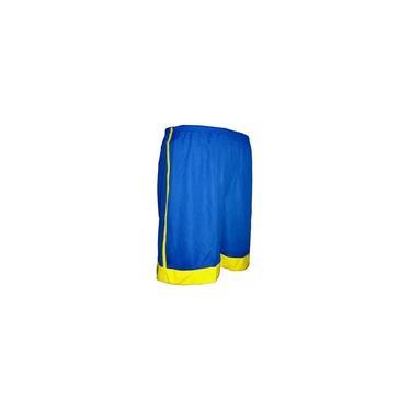 Calção Rhama/sclan Azul/amarelo