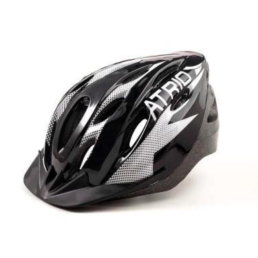Imagem de Capacete De Ciclismo Mtb 2.0 Com Viseira Removível Preto Atrio