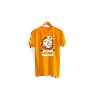 Camiseta Star Wars - Bb-8 Desert Laranja