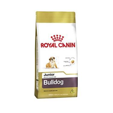 Ração Royal Canin Bulldog Inglês Junior Cães Filhotes 12Kg Royal Canin para Todas Todos os tamanhos de raça Filhotes - Sabor Outro