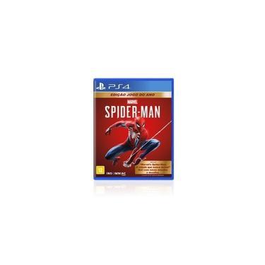 Jogo Game Spider Man Goty Edition - Ps4