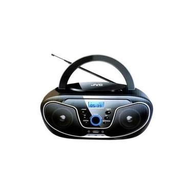 Micro System Portátil Jvc N327 Cd Usb Bluetooth Aux Radio Fm