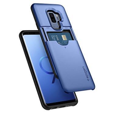 Spigen Capa Slim Armor CS Projectada para Samsung Galaxy S9 Plus - Azul