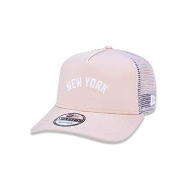 9e671fd27e Boné New Era 940 Aba Curva New York - Snapback