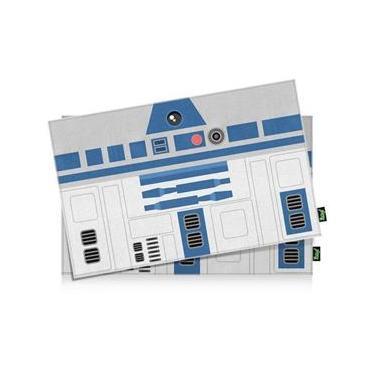 Imagem de Jogo Americano Geek Side Faces R2 Azul - 2 Peças
