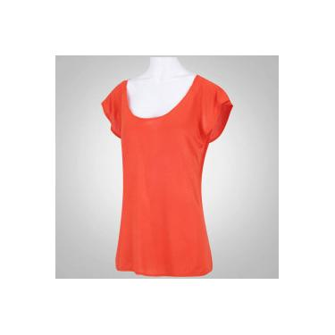 Camiseta Oxer Ari New - Feminina - LARANJA ESCURO Oxer f9e3744a29a