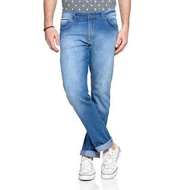 623b01cce Calça Azul Amazon regular   Moda e Acessórios   Comparar preço de Calça -  Zoom