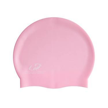 Touca de Natação de Silicone Premium - Rosa 6e4088d09d1