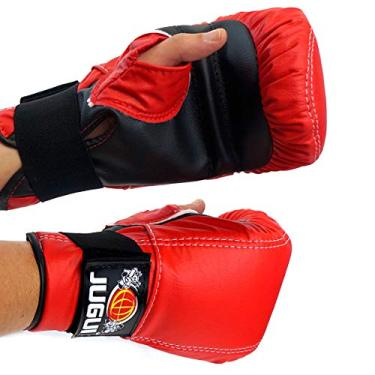 Luva Bate Saco Jugui Boxe/Muay Thay Div. Cores (Vermelho)
