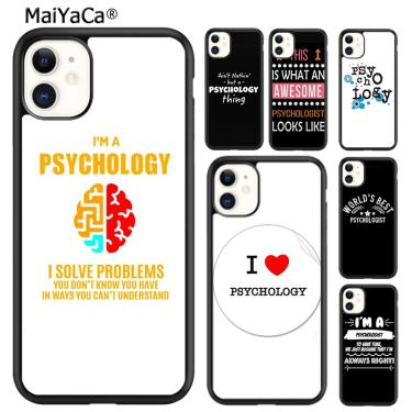 Maiyaca psicólogo profissão psicologia caso telefone para iphone se 6s 7 8 plus x xr xs 11 12 pro