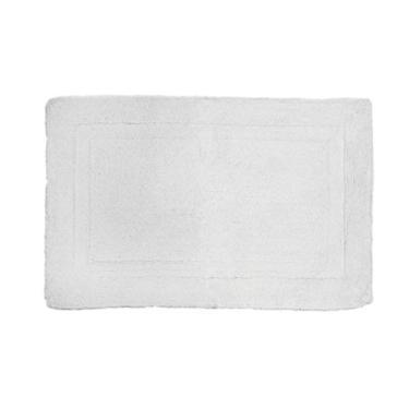 Imagem de Tapete Confort Retangular Branco Kapazi Branco Algodão