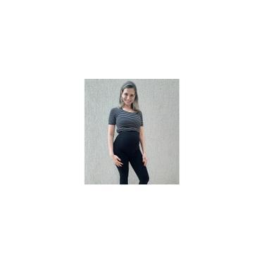 Imagem de Calça gestante grávida legging preta