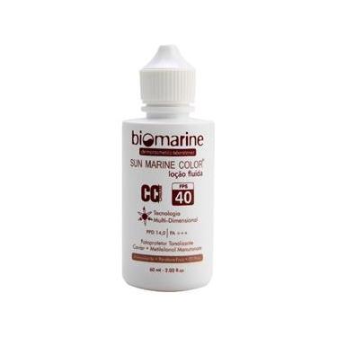 Sun Marine CC Cream Color FPS 40 Biomarine -Base Facial Natural