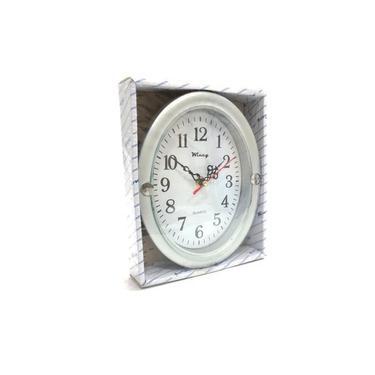 Relógio de Parede Cinza 21 cm