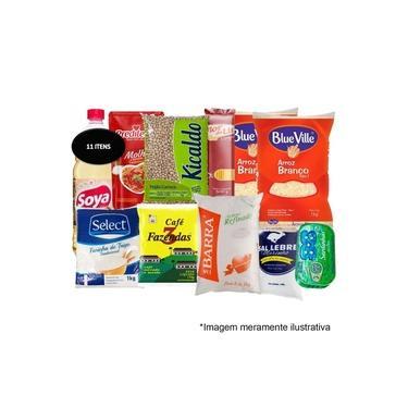 Cesta Básica de Alimentos Completa - Doações