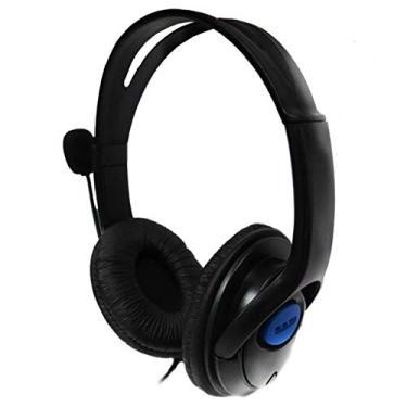 Headset Gamer com Microfone e Fone Plug P2 3,5mm Ps4 Xbox One Pc Mobile