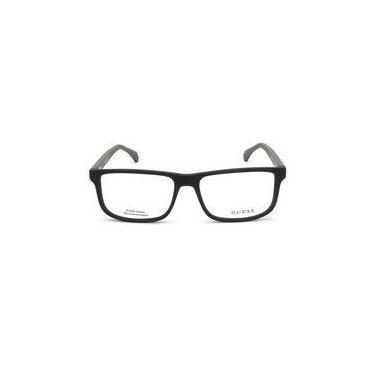 cb6c86ac59c Armação De Óculos Guess Gu1895 002 55 16 145