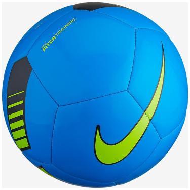d1dafc51eb64e Bola de Futebol de Campo Pitch Training Nike SC3101 - Azul Verde