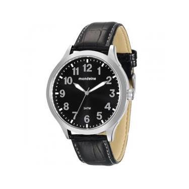 630fcf6a929 Relógio Masculino Mondaine 76659G0MVNH2 Analógico Social Preto