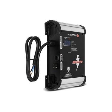Fonte Automotiva Stetsom CHV3000 33A 220V Bivolt Carregador Bateria Alta High Voltagem