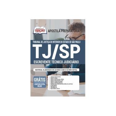 Imagem de Apostila TJ-SP 2020 - Escrevente Técnico Judiciário