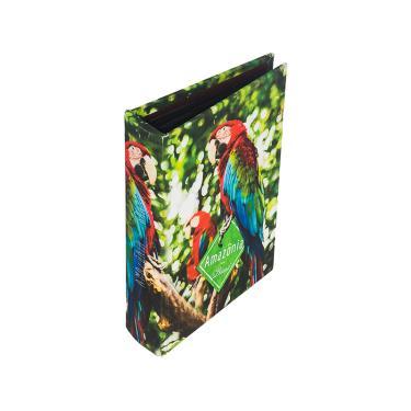 Album com 200 Folhas Arara Amazônia