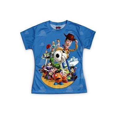 Camiseta Baby Look Feminina Toy Story Md01