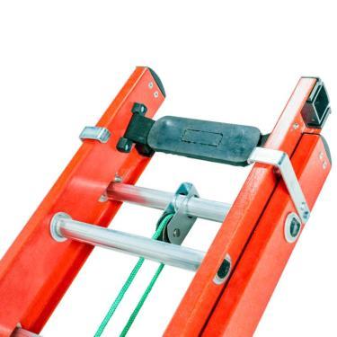 Escada Extensiva De Fibra De Vidro 23 Degraus 4,50 X 7,80 Metros Ef4.5 Fibermax