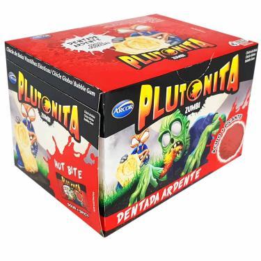 Chiclete Plutonita Zumbi Dentada Ardente 180g Arcor 1009630