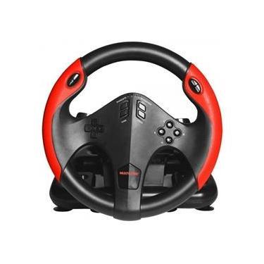 Volante Gamer Pc, Xbox One, Ps3, Ps4 C/marcha E Pedal- Js087