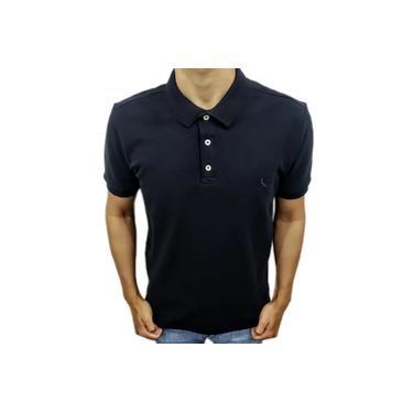 Camisa Polo Reserva Piquet Básica Preto 0050254