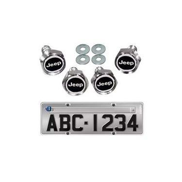 Imagem de Kit 4 Parafusos De Placa Emblema Jeep Renegade Compass Chero