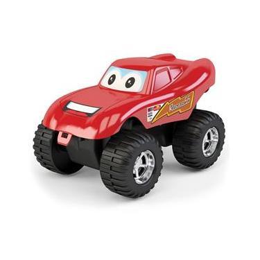 Imagem de Carrinho brinquedo vermelho Racer 55 MK206 DISMAT