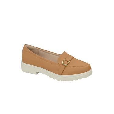 Sapato Modare Mocassim Napa Floather Areia