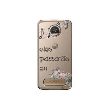 Capa Personalizada Motorola Moto Z2 Play XT1710 - Passarão eu - TP383