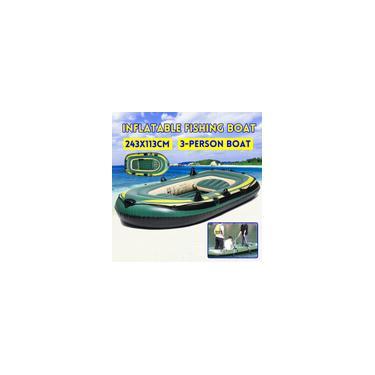 Barco a remo de pesca inflável Jangada Canoa Caiaque Bote Pesca de barco a ar