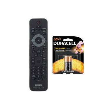 Controle Remoto Home Theater Philips Original + Pilhas Duracell AAA