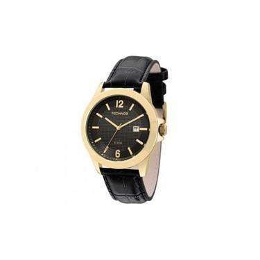 ca44cad3020 Relógio Analógico Technos Classic Steel Masculino 2115KNO 2P
