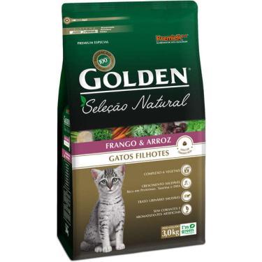 Ração Seca PremieR Pet Golden Seleção Natural para Gatos Filhotes - 3 Kg
