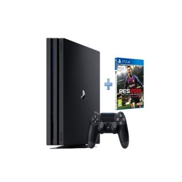 Console Playstation 4 Pro 1 TB + Controle Wireless DualShock 4 + Pes 2019
