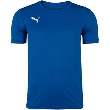 Camiseta Puma Liga Jersey Active Masculina 704783-02, Cor: Azul, Tamanho: G