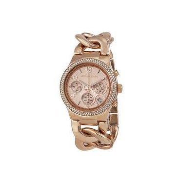 1d8864ccde1 Relógio Feminino Michael Kors MK3247 Rose Trançado 38mm