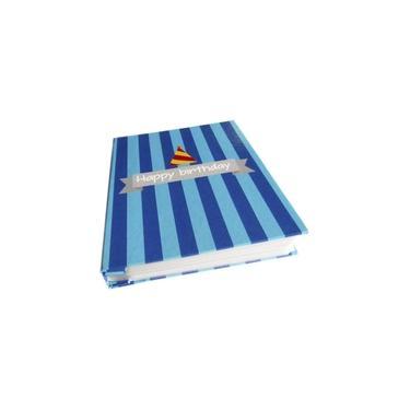 Álbum de Fotos Aniversário Menino Azul (10x15) p/ 200 fotos - 1807