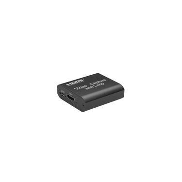 4K hdm I 1080P Placa de captura de vídeo USB de alta definição com laço