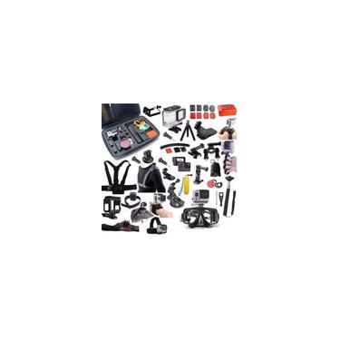 Imagem de Kit para GoPro Hero 5 Hero 6 Hero 7 Mala Impermeável Caixa Estanque
