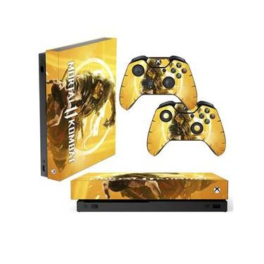 Skin Xbox One X Scorpion Mortal Kombat 11
