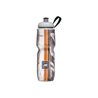 Garrafa Polar 24oz - 710 ml - Orange and Black