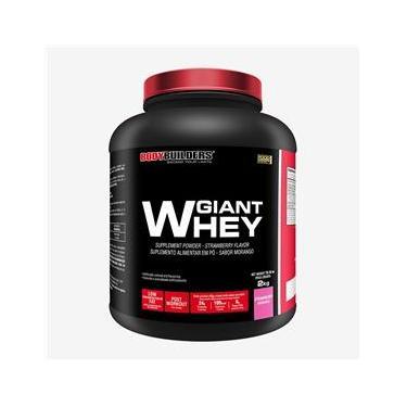 Whey Protein Giant Whey 2kg Morango – Bodybuilders