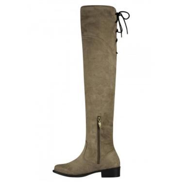 Bota Barth Shoes Agnes Caqui  feminino